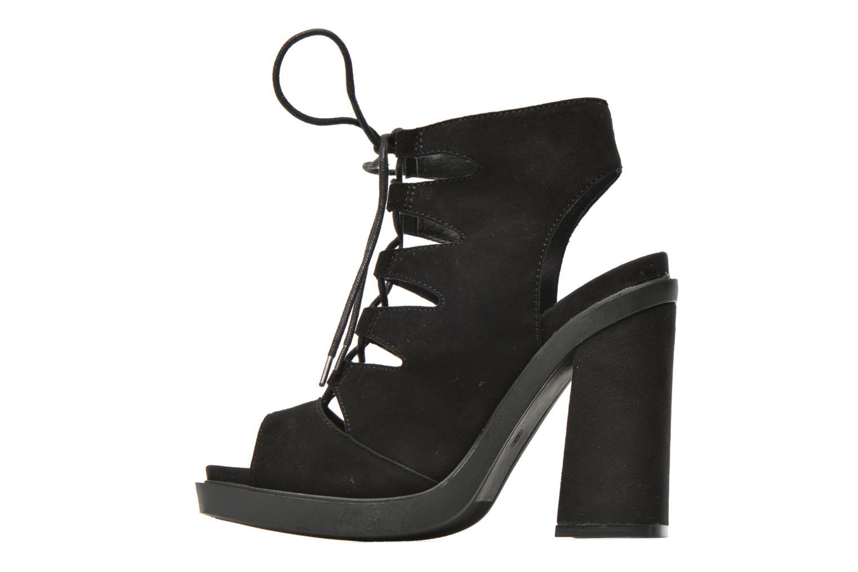 Sandalen Bronx Mila Zwart voorkant