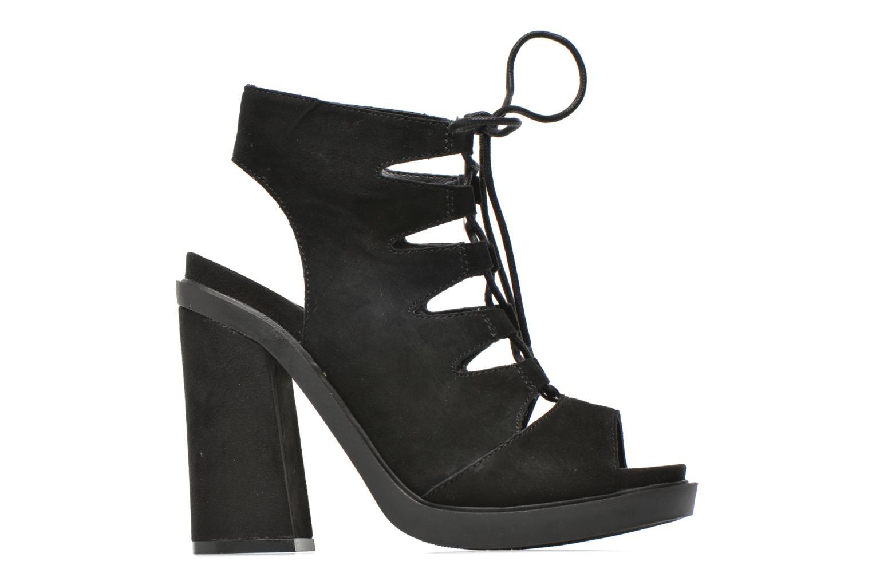 Sandales et nu-pieds Bronx Mila Noir vue derrière