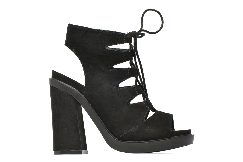 Sandalen Bronx Mila Zwart achterkant