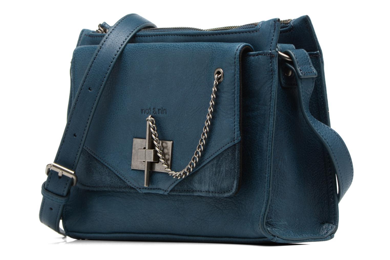 Bolsos de mano Nat & Nin Bianca Azul vista del modelo