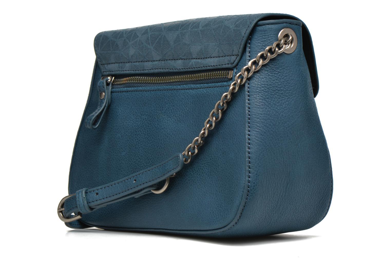 Handbags Nat & Nin Nova Blue view from the right
