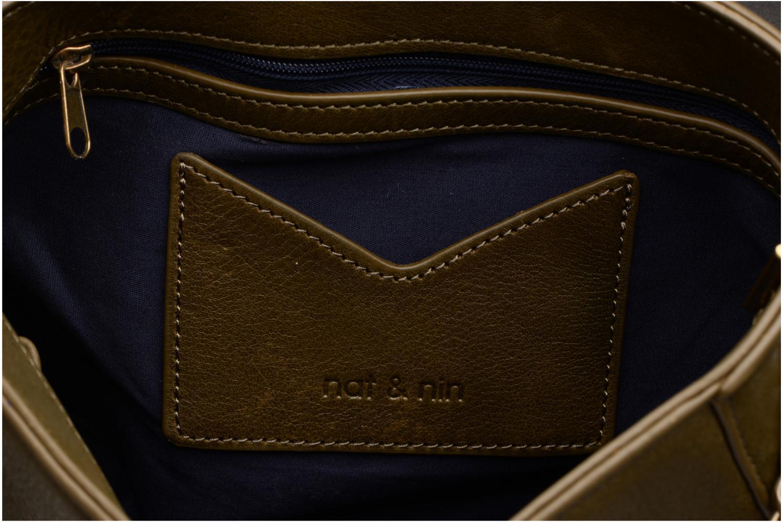 Handtaschen Nat & Nin Nova grün ansicht von hinten
