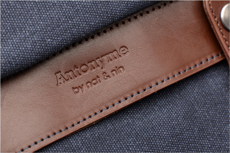 Sacs à dos Antonyme by Nat & Nin Aaron Bleu vue gauche