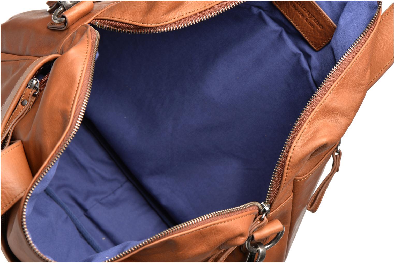 Laptoptaschen Antonyme by Nat & Nin Lorenzo braun ansicht von hinten