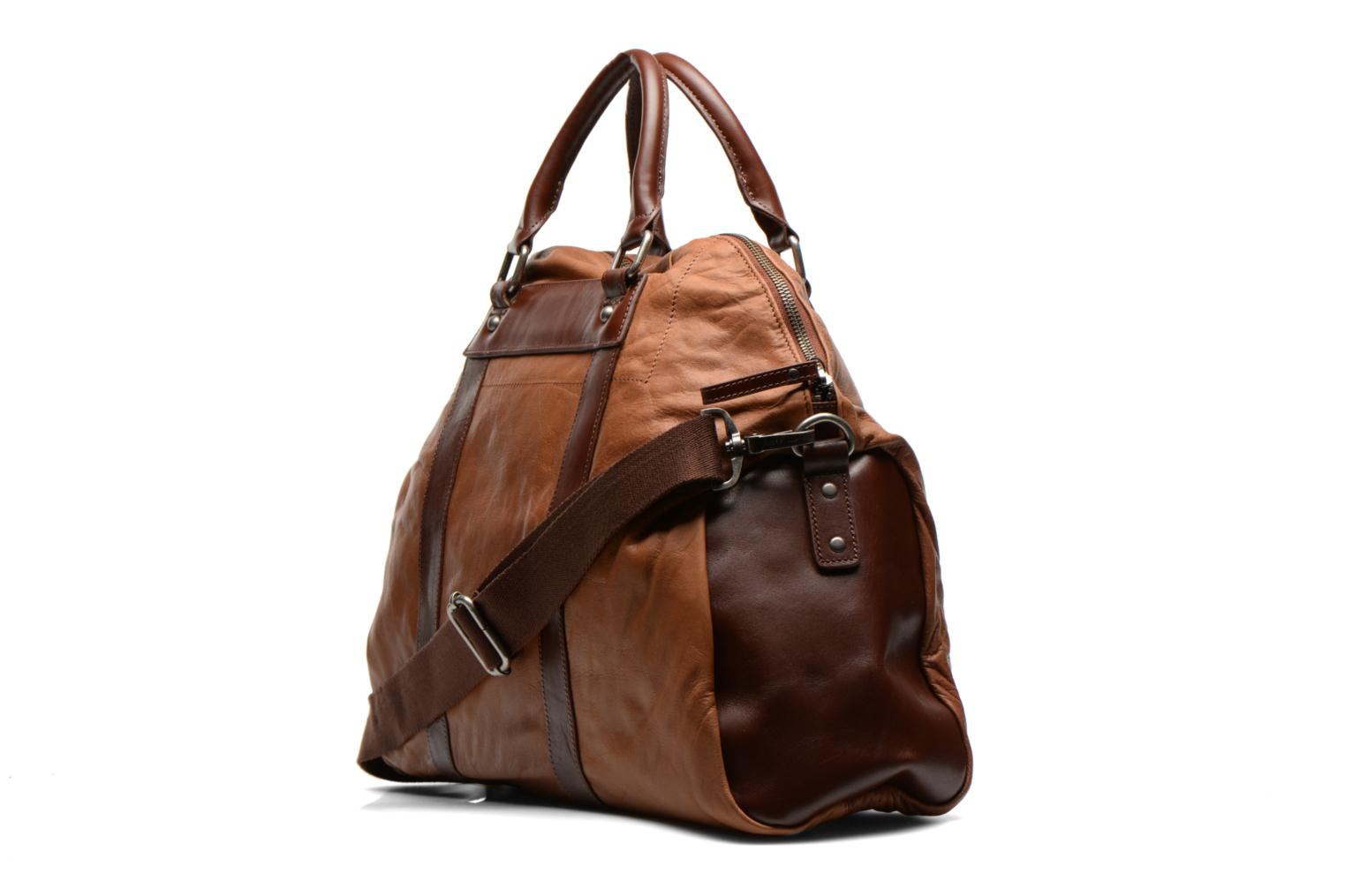 Bagages Antonyme by Nat & Nin Guido Marron vue droite