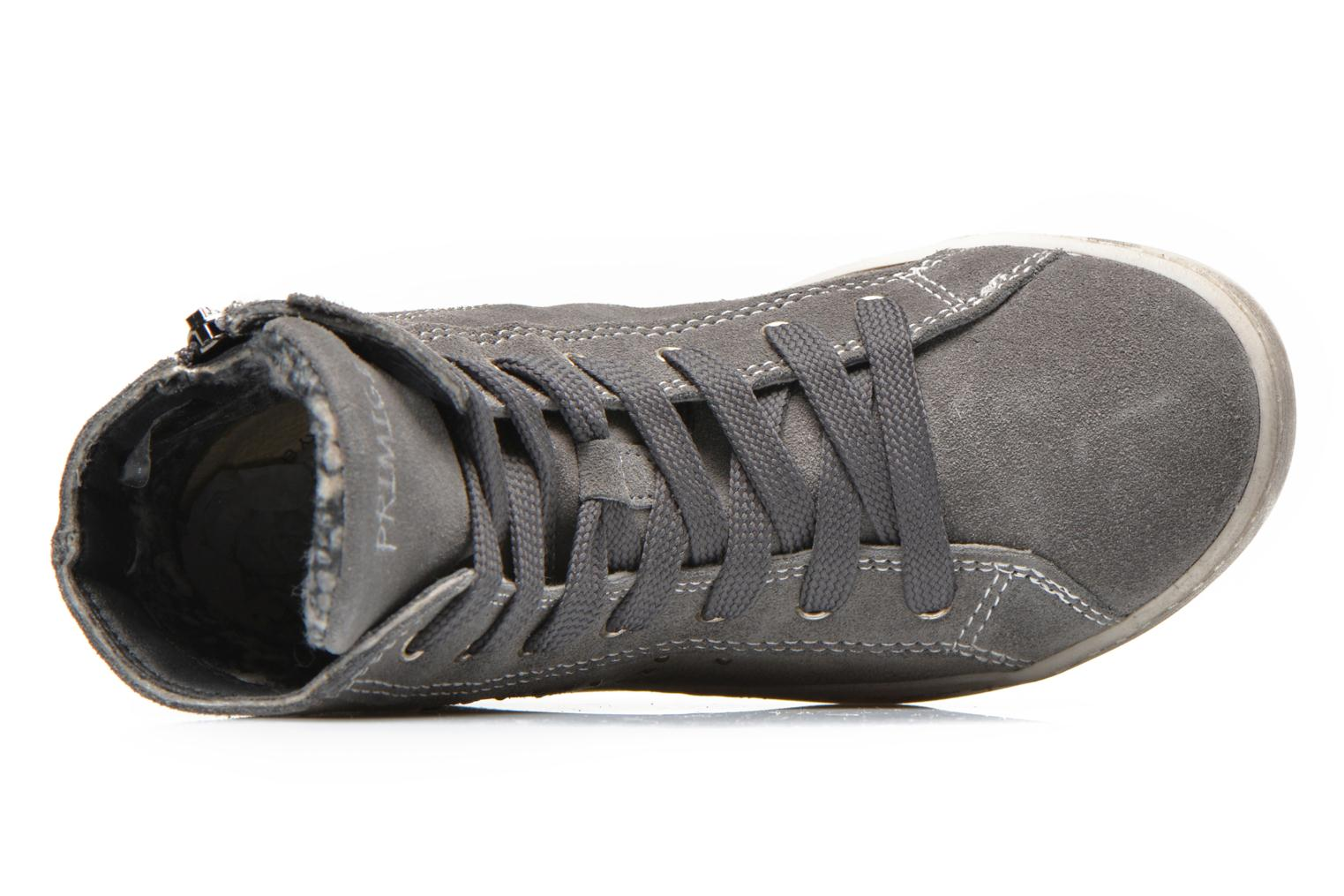 Lace-up shoes Primigi Mariana Grey view from the left