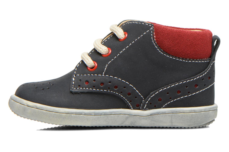 Zapatos con cordones Primigi Rod-R Azul vista de frente