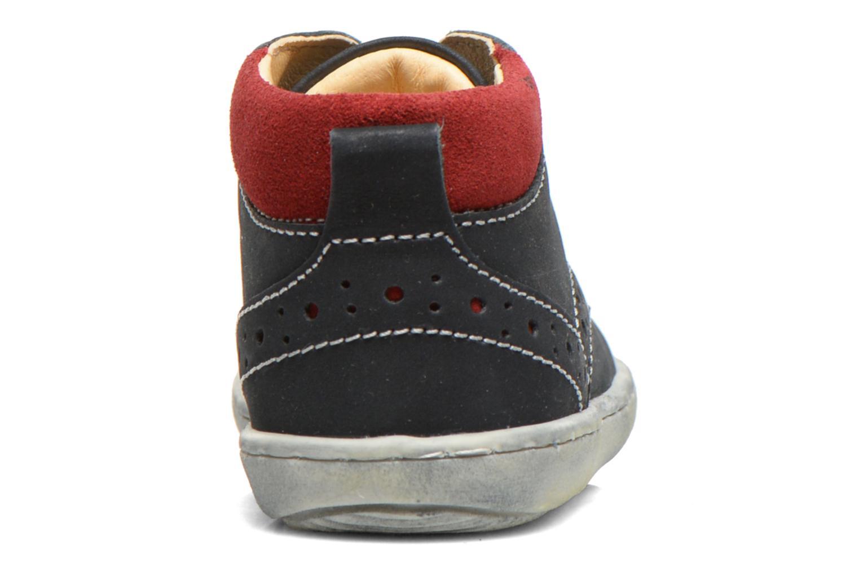 Zapatos con cordones Primigi Rod-R Azul vista lateral derecha