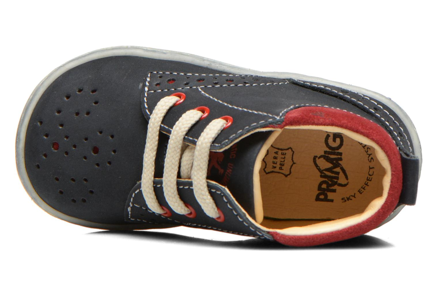Lace-up shoes Primigi Rod-R Blue view from the left