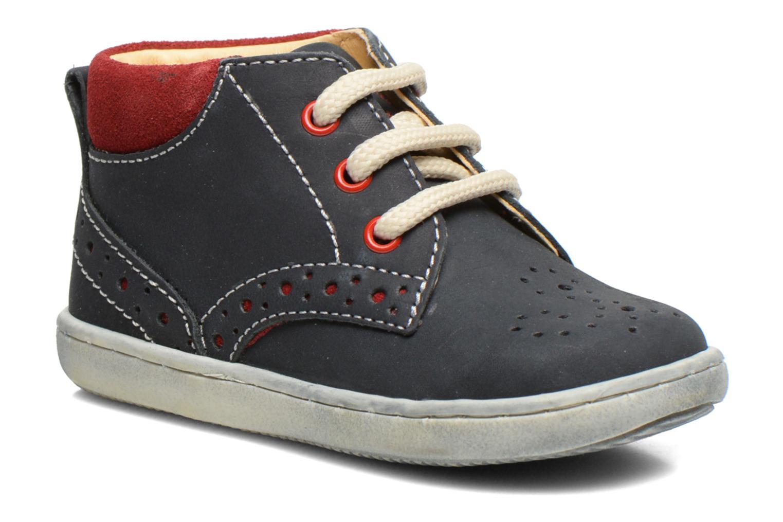 Zapatos con cordones Primigi Rod-R Azul vista de detalle / par