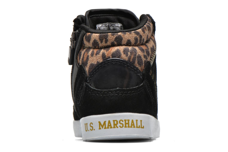 Baskets US Marshall Datacha Kids Noir vue droite