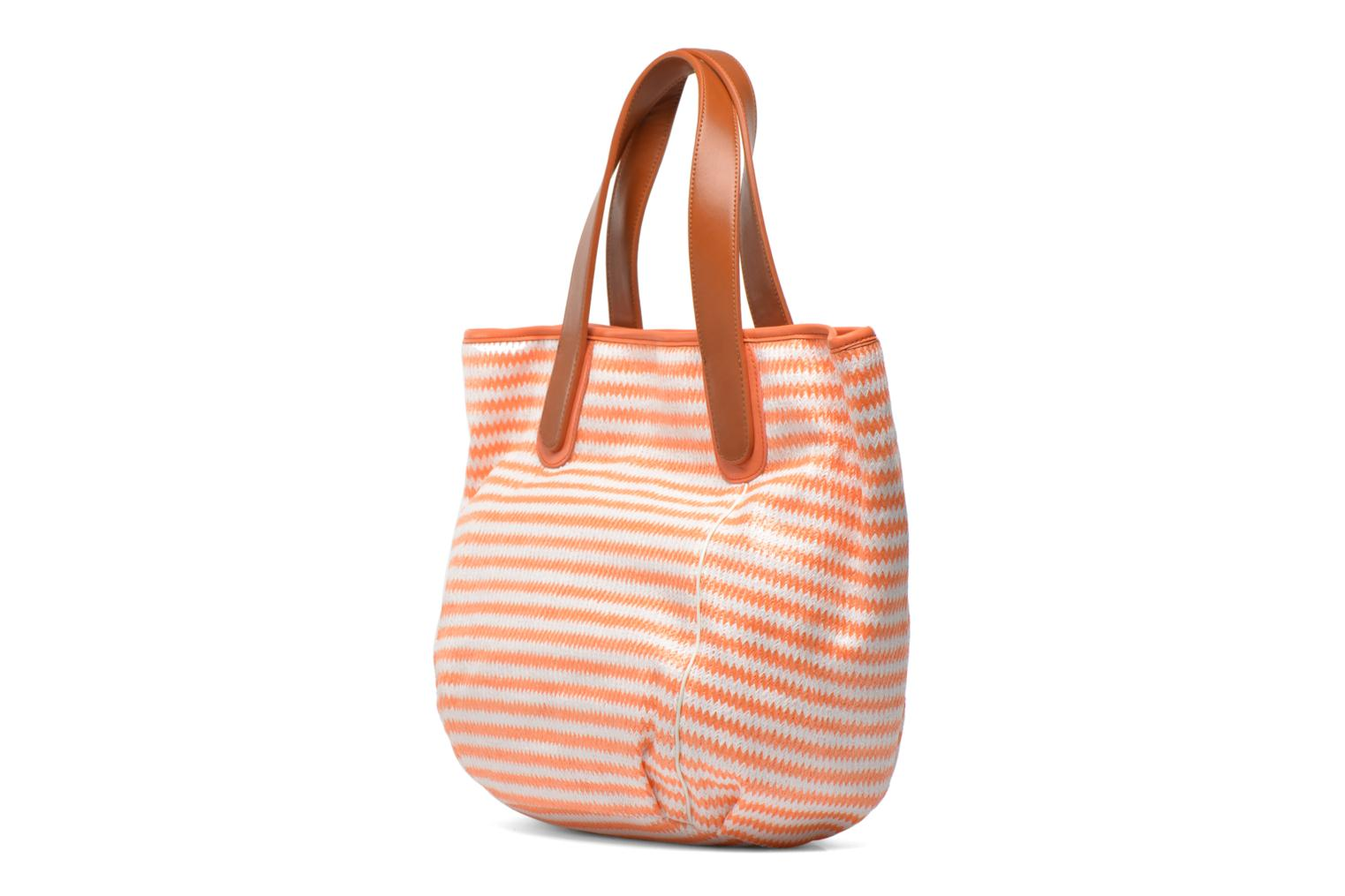 Handbags Mellow Yellow Voilier Orange view from the right
