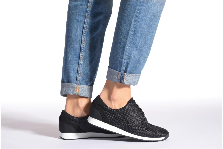 Sneaker Vagabond Shoemakers Kasai 4125-180 schwarz ansicht von unten / tasche getragen