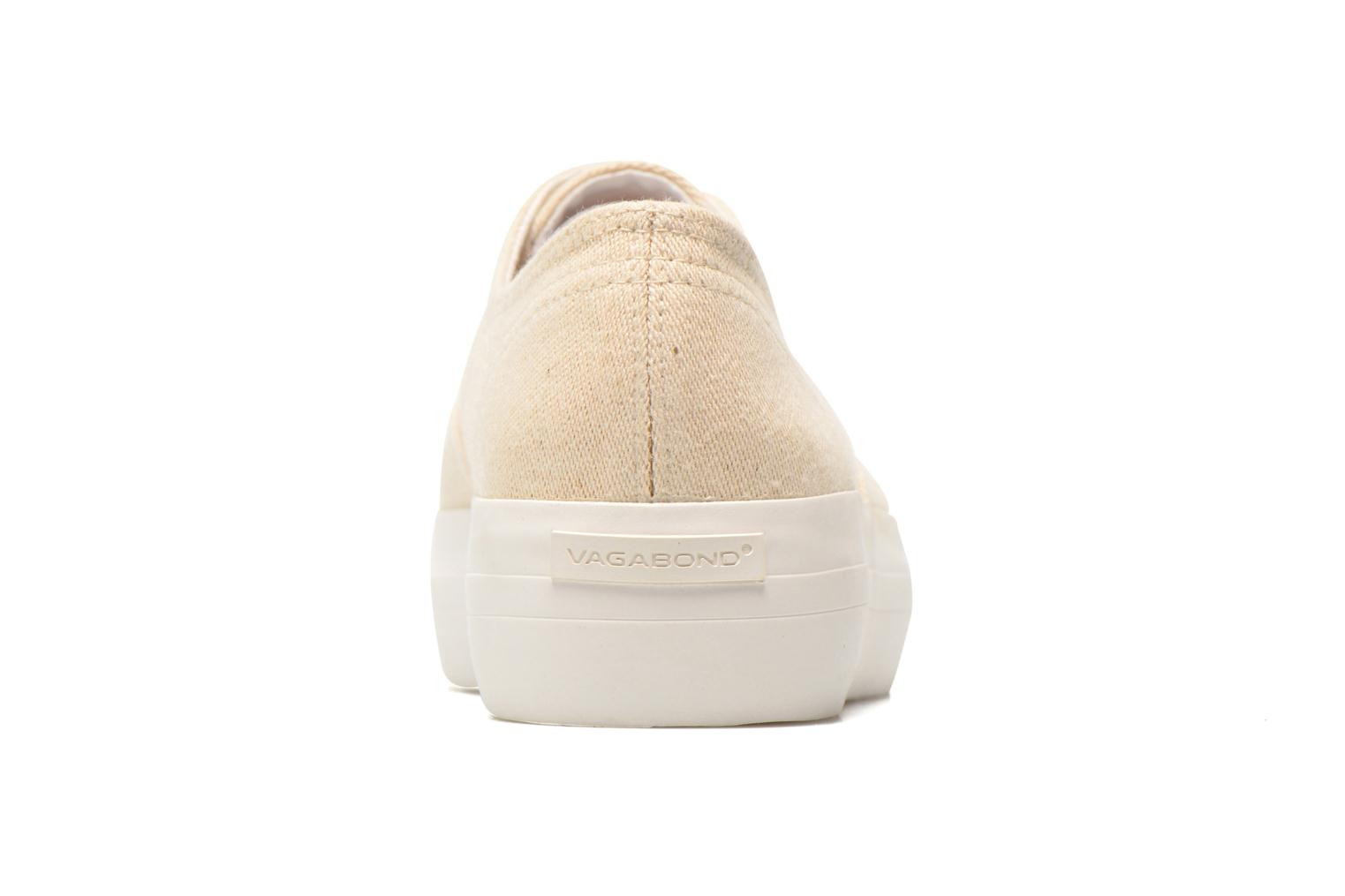 Trainers Vagabond Keira 4144-180 Beige view from the right