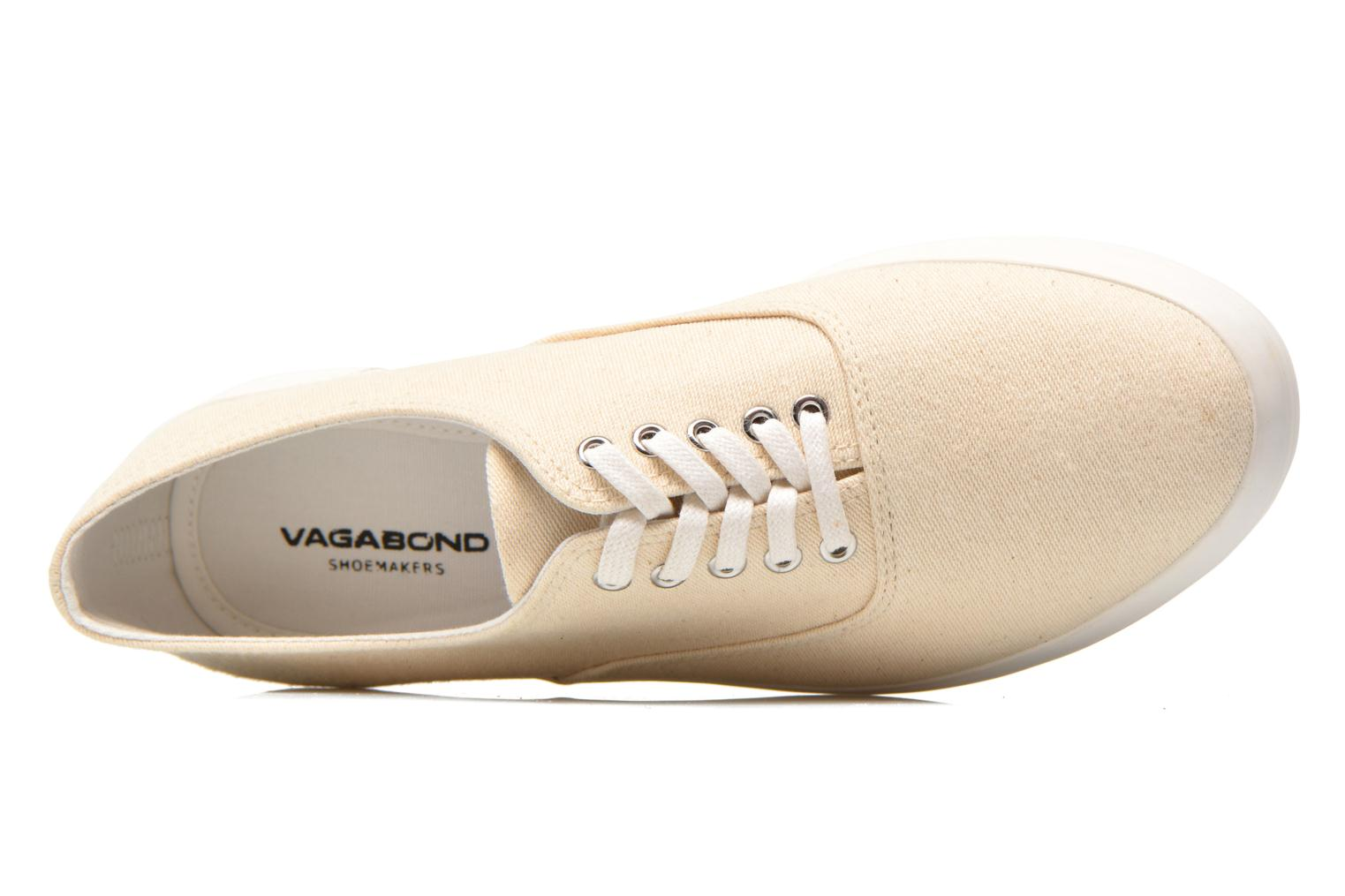 Trainers Vagabond Keira 4144-180 Beige view from the left