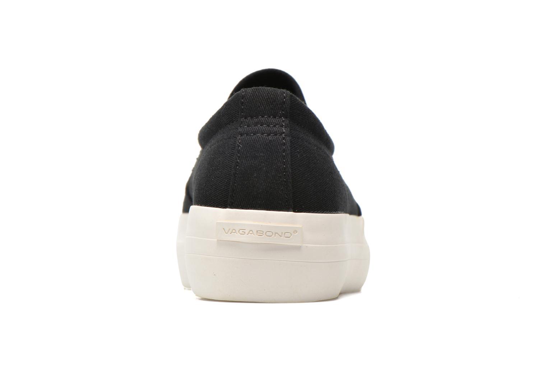 Baskets Vagabond Shoemakers Keira 4144-380 Noir vue droite