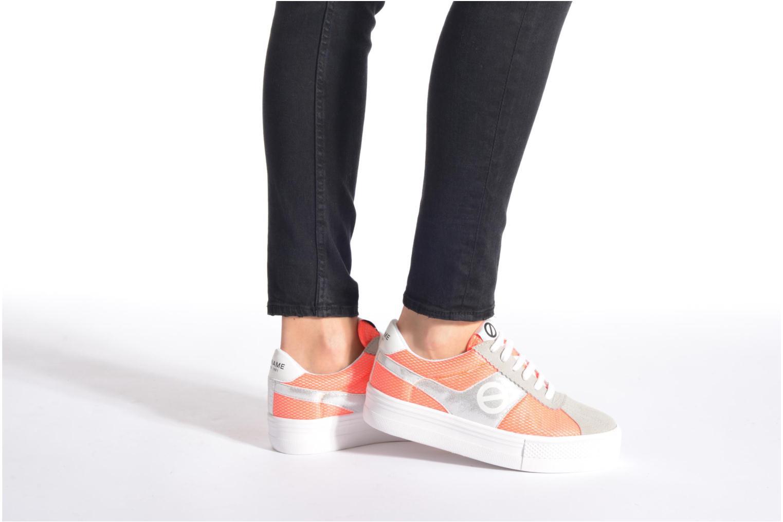 Sneaker No Name Shake Print Astro Micro Suede mehrfarbig ansicht von unten / tasche getragen