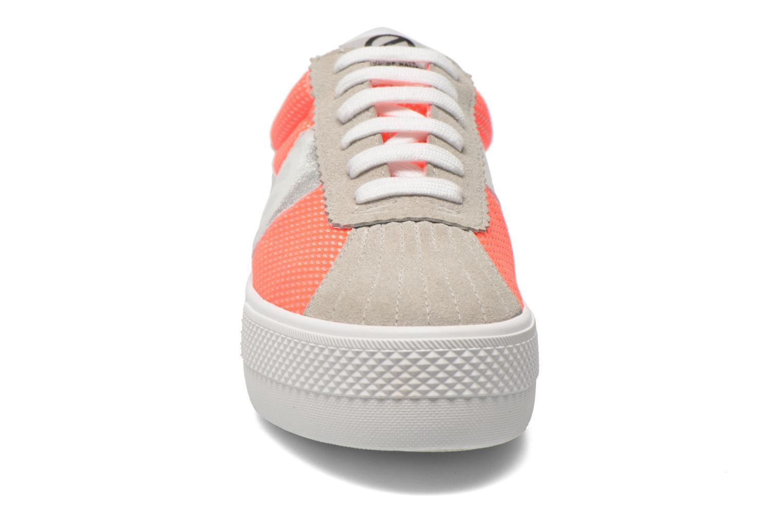 Sneaker No Name Shake Print Astro Micro Suede mehrfarbig schuhe getragen