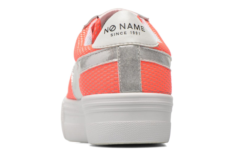 Baskets No Name Shake Print Astro Micro Suede Multicolore vue droite
