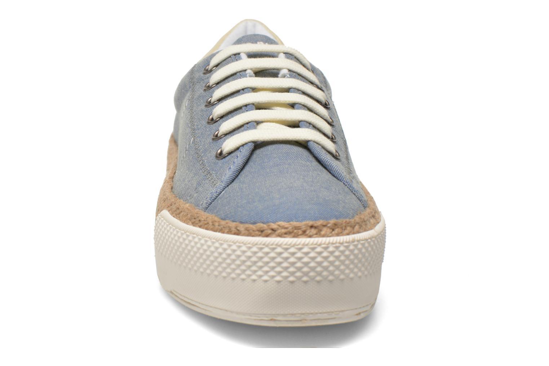 Baskets No Name Sunset Sneaker Molitor Bleu vue portées chaussures