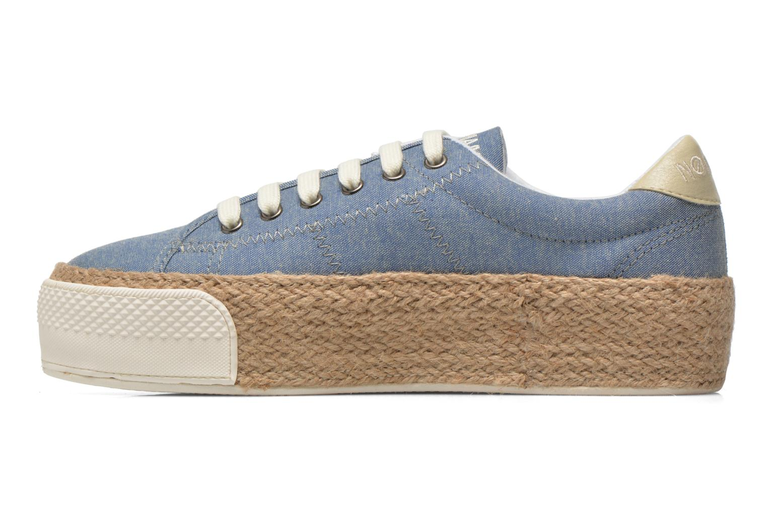 Baskets No Name Sunset Sneaker Molitor Bleu vue face