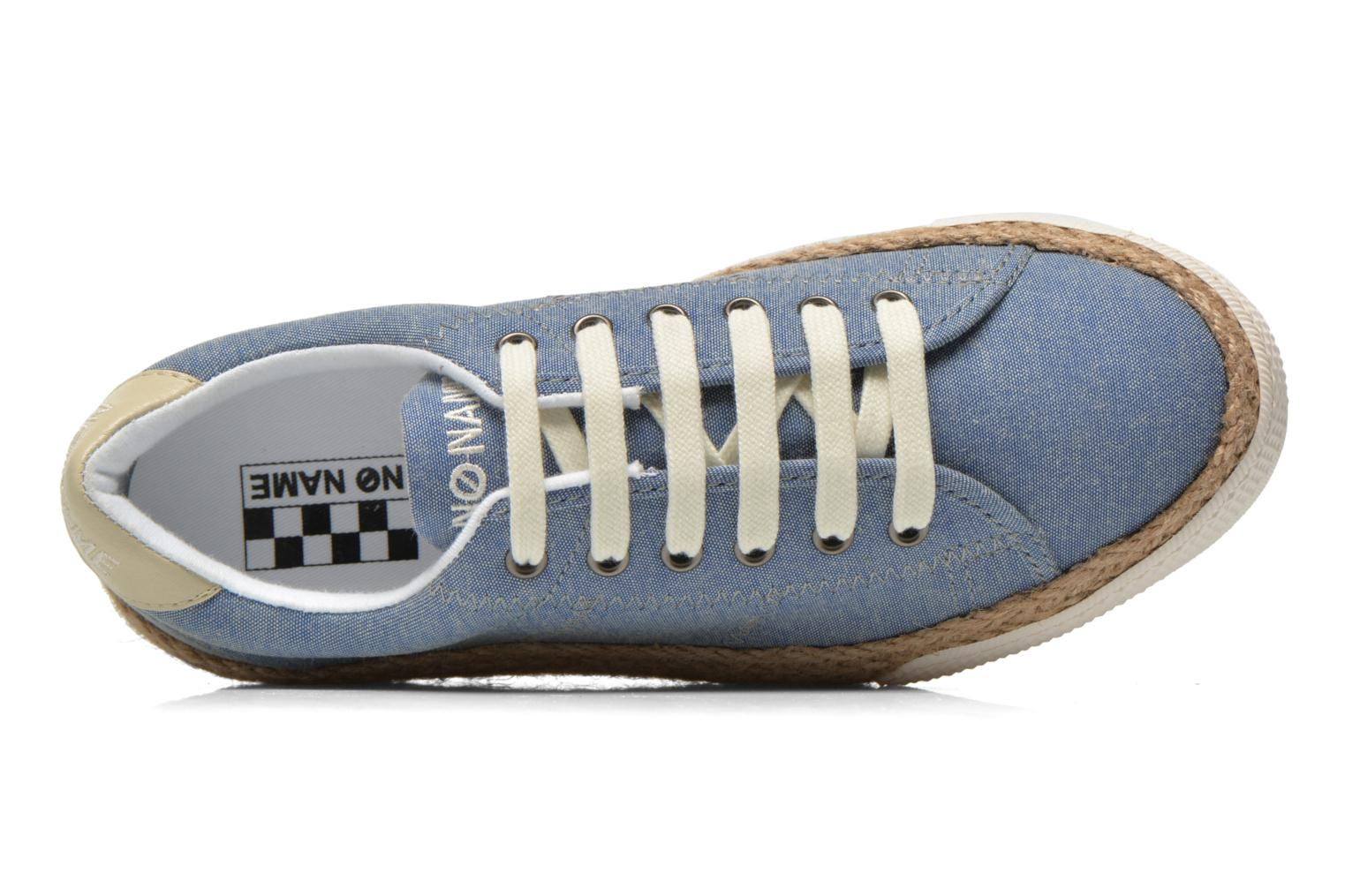Baskets No Name Sunset Sneaker Molitor Bleu vue gauche