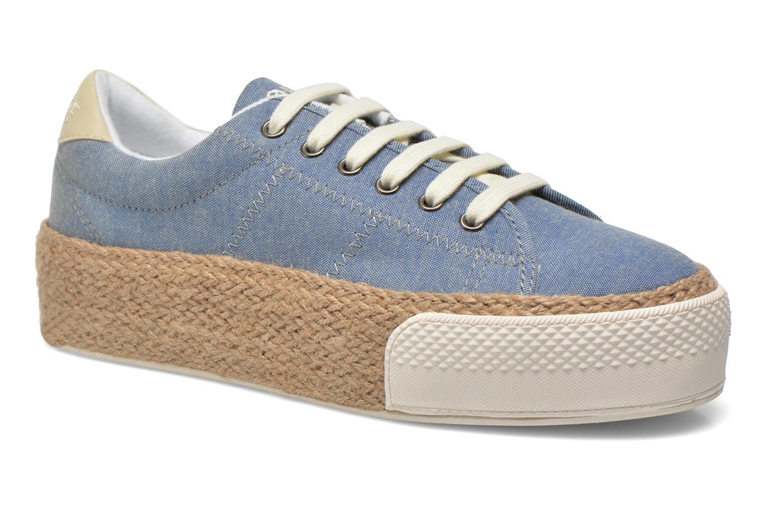 Baskets No Name Sunset Sneaker Molitor Bleu vue détail/paire