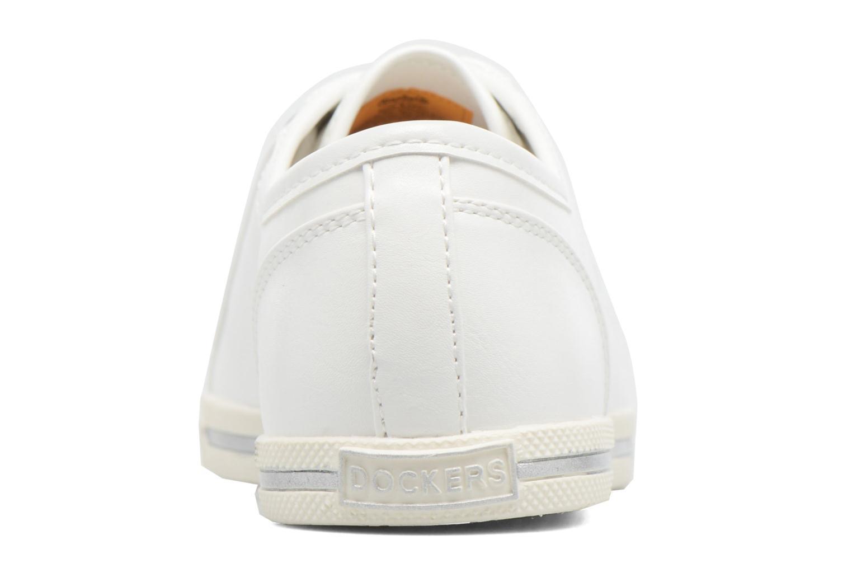 Sneaker Dockers Soli weiß ansicht von rechts