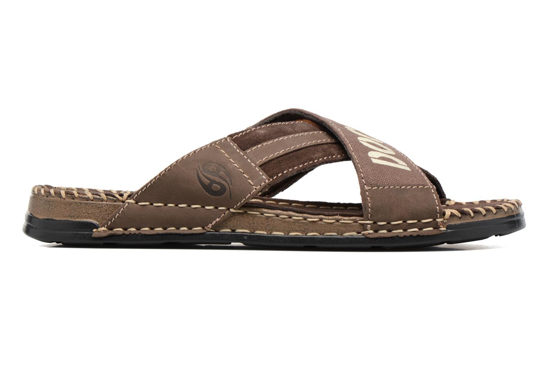 Sandalen Dockers xy17 braun ansicht von hinten