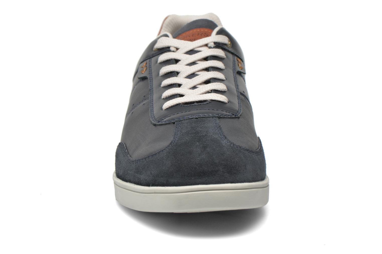 Baskets Dockers Yul Bleu vue portées chaussures