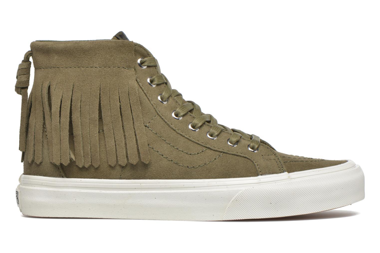 Sneaker Vans SK8-Hi Moc grün ansicht von hinten