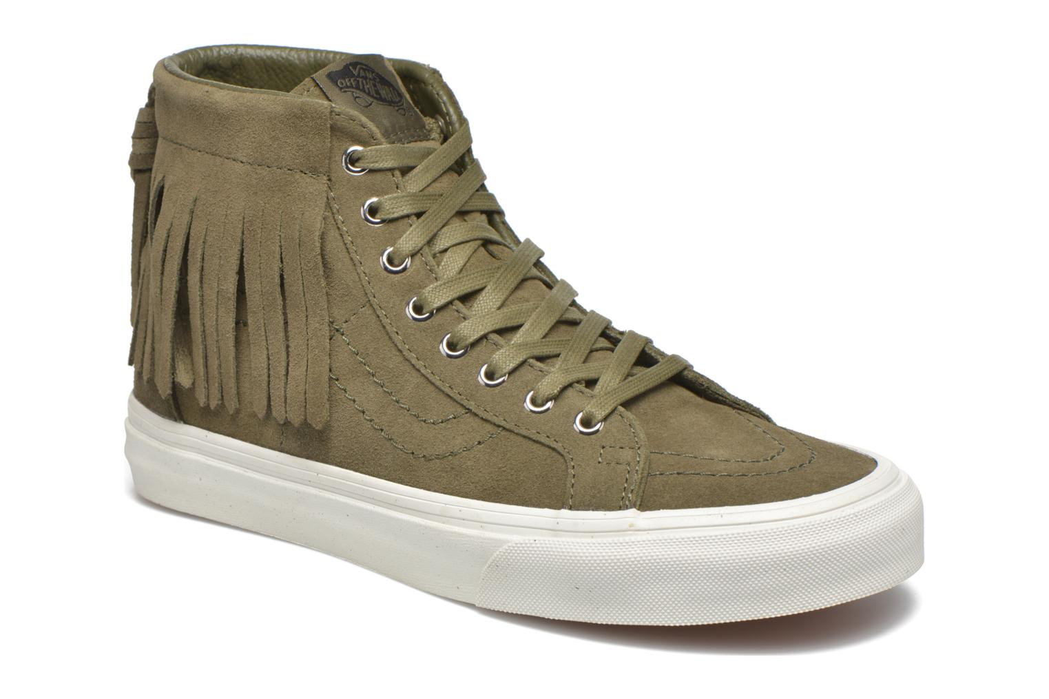 Trainers Vans SK8-Hi Moc Green detailed view/ Pair view