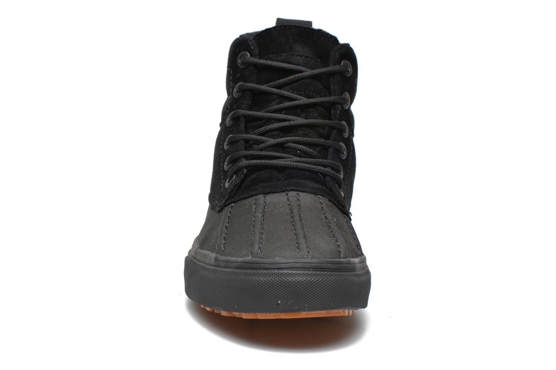 Sneaker Vans SK8-Hi Del Pato MTE schwarz schuhe getragen
