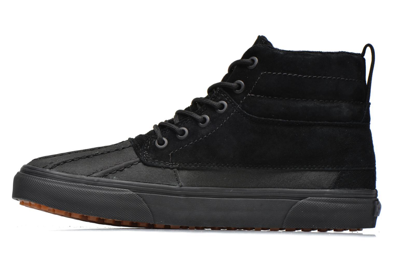 Sneaker Vans SK8-Hi Del Pato MTE schwarz ansicht von vorne