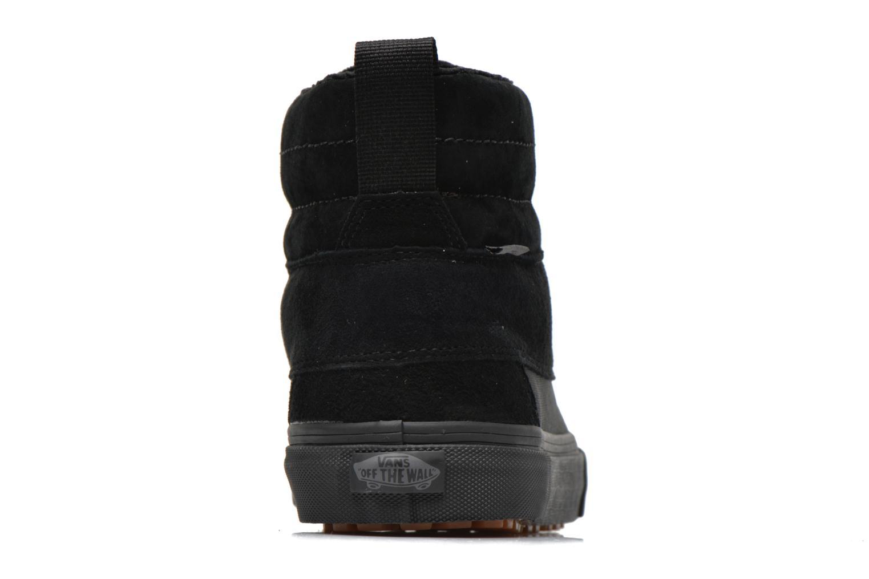 Sneaker Vans SK8-Hi Del Pato MTE schwarz ansicht von rechts