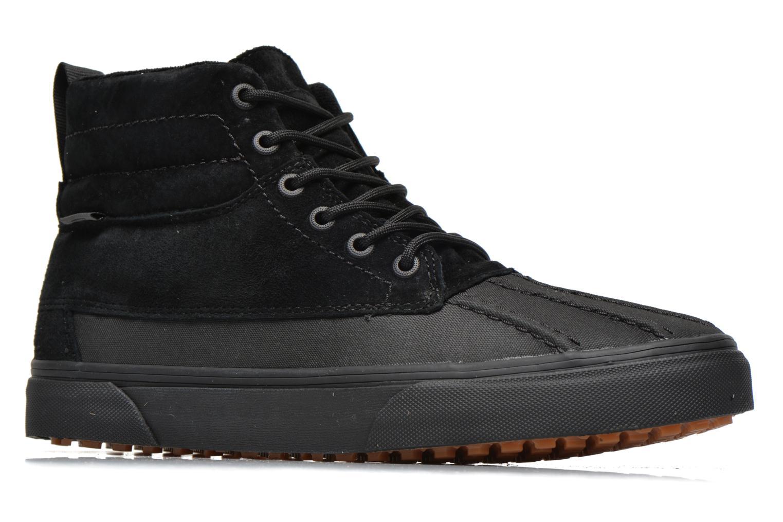 Sneaker Vans SK8-Hi Del Pato MTE schwarz ansicht von hinten