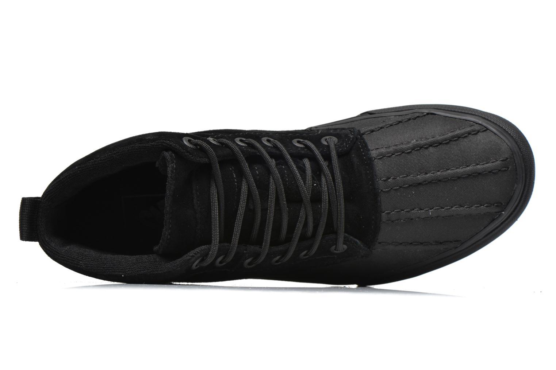 Sneaker Vans SK8-Hi Del Pato MTE schwarz ansicht von links
