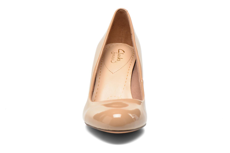 High heels Clarks Carlita Cove Beige model view