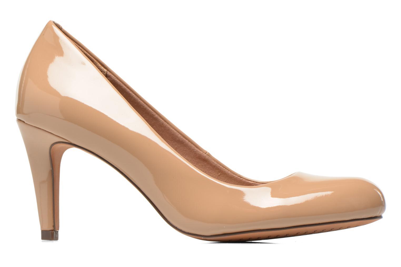 High heels Clarks Carlita Cove Beige back view