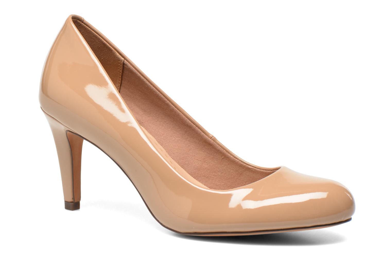 High heels Clarks Carlita Cove Beige detailed view/ Pair view