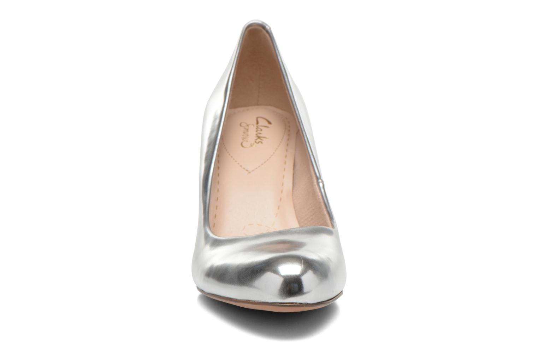 High heels Clarks Carlita Cove Silver model view