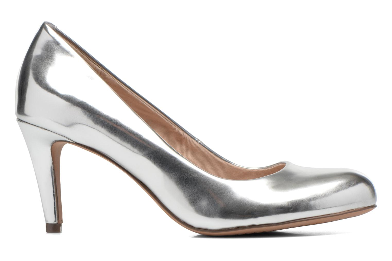 High heels Clarks Carlita Cove Silver back view