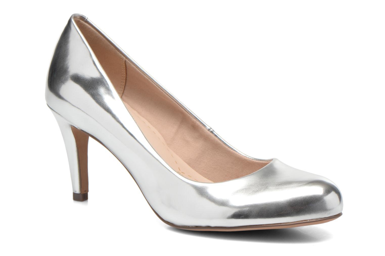 High heels Clarks Carlita Cove Silver detailed view/ Pair view