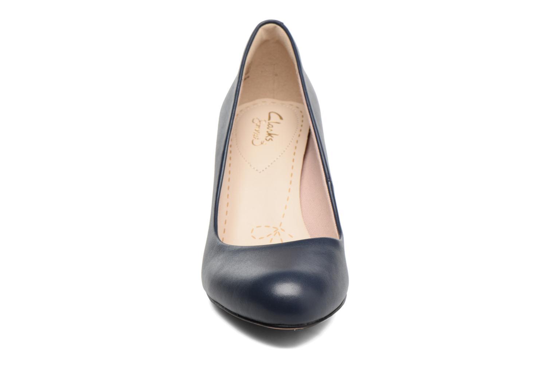 High heels Clarks Carlita Cove Blue model view