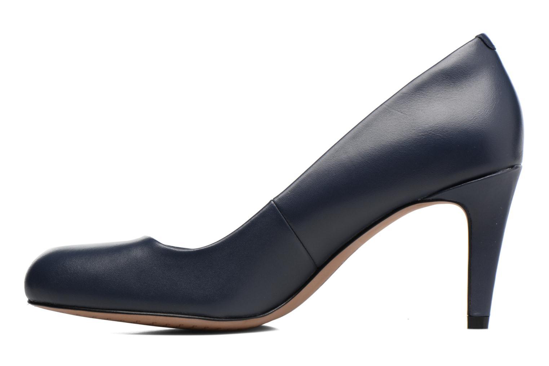 High heels Clarks Carlita Cove Blue front view