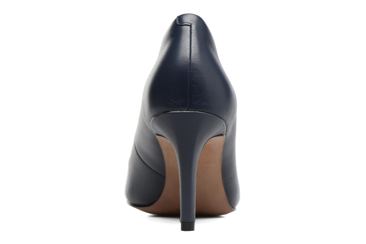 High heels Clarks Carlita Cove Blue view from the right