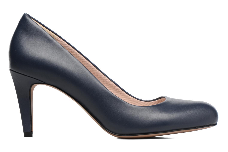High heels Clarks Carlita Cove Blue back view