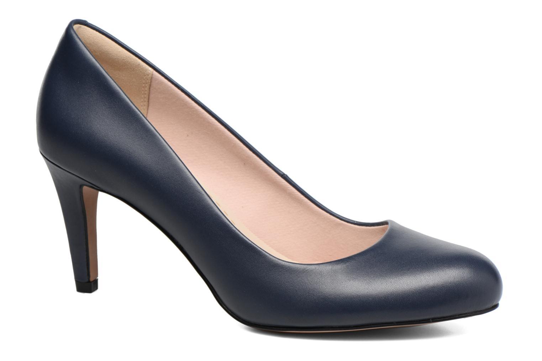 Høje hæle Clarks Carlita Cove Blå detaljeret billede af skoene
