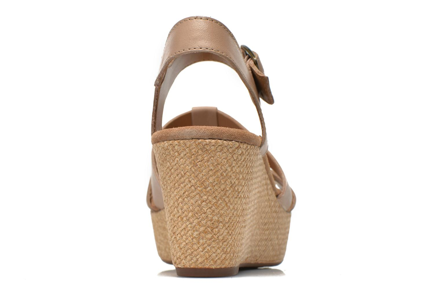 Sandals Clarks Caslynn Harp Beige view from the right