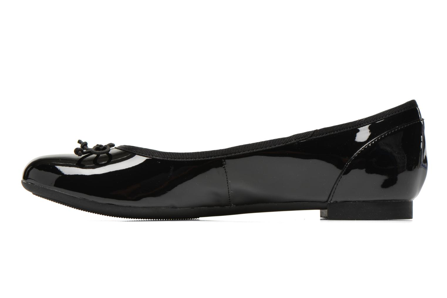 Ballerines Clarks Couture Bloom Noir vue face